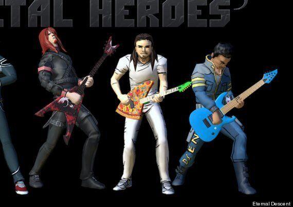 Andrew WK To Join Rock Heroes In 'Eternal Descent: Heavy Metal Heroes' For