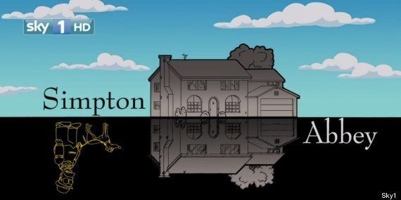 WATCH: The Simpsons 'Do' Downton Abbey, With Their Version Of 'Simpton
