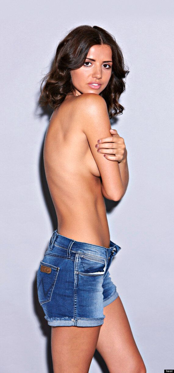 Lucy Mecklenburgh Topless: Super Slim 'TOWIE' Star Strips But Insists 'I'm Not Too