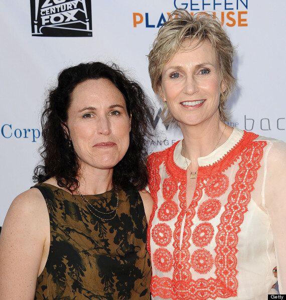 'Glee' Star Jane Lynch And Wife Lara Embry To