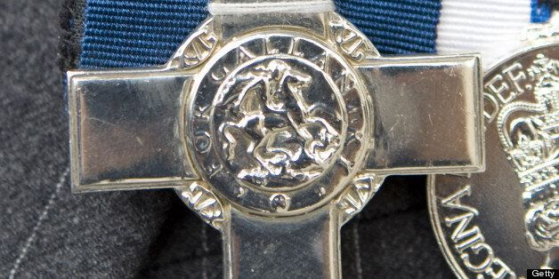 A Closeup Of The George Cross Medal At The Victoria Cross And George Cross Association Reunion At St...