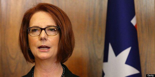 Julia Gillard has attacked a 'sexist' fundraising