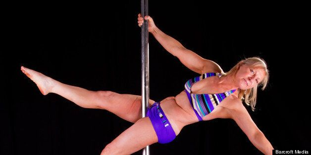 Cecylia, Britain's oldest pole dancer