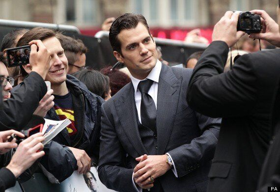 PICTURES: New Superman Henry Cavill Greets Fans At European Premiere Of 'Man Of Steel' In