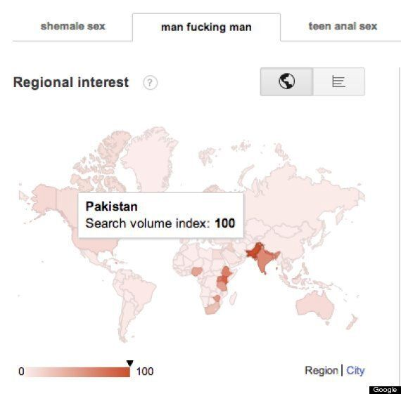 Homosexuality Is Not Tolerated In Pakistan, But The Country Leads Google Searches For Gay