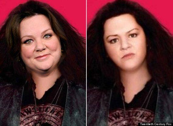 Melissa McCarthy Victim Of Worst Ever Photoshop Job On 'The Heat' Poster
