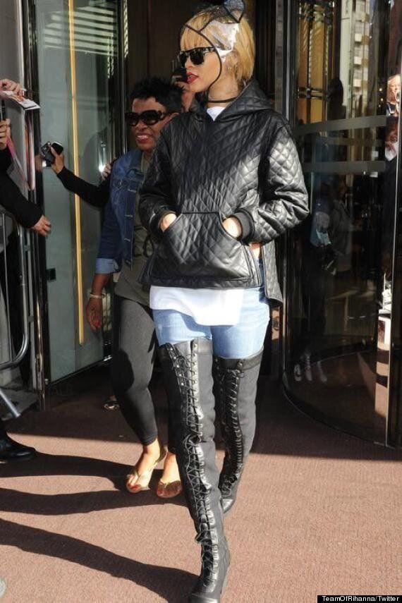 Rihanna Pulls Out The Stops At Twickenham Stadium, For London Leg Of 'Diamonds' World