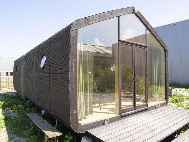 ダンボールの家・Wikkelhouse(ウィッケルハウス)の外装