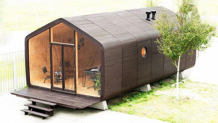 ダンボールの家・Wikkelhouse(ウィッケルハウス)の模型