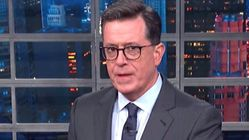 Stephen Colbert Admits He May Owe Donald Trump An