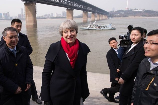 May Agrees Deal With China To Tackle Illegal Wildlife