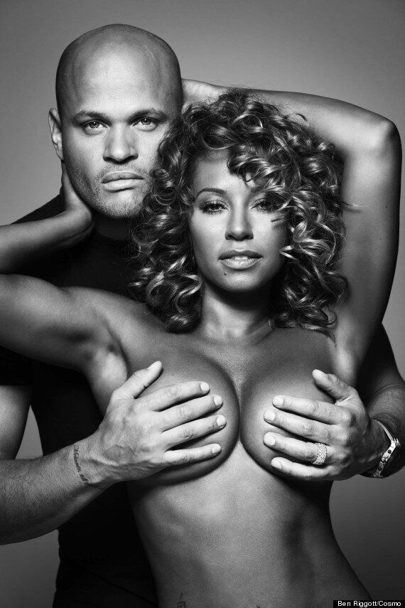 Mel B Reveals Cancer Scare As She Goes Topless For Breast Cancer Charity Coppafeel