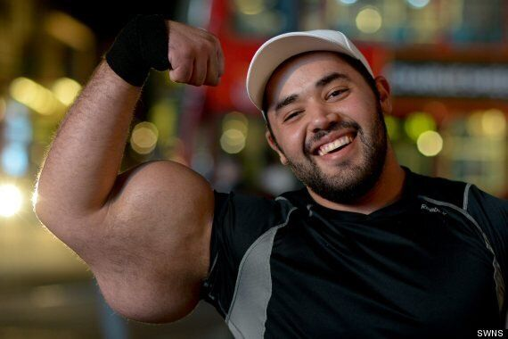 Moustafa Ismail, Egyptian Bodybuilder's 31-Inch 'Popeye' Biceps Earn A Place In Guinness Book Of World...