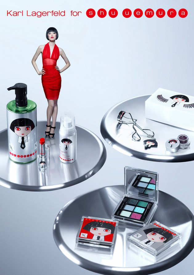 Karl Lagerfeld for Shu Uemura: The Unification of Two