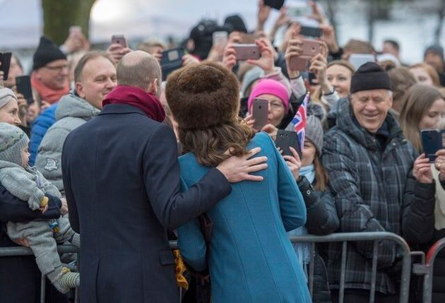 Duke Of Cambridge Jokes He'S 'Allergic' To Selfies On Scandinavian