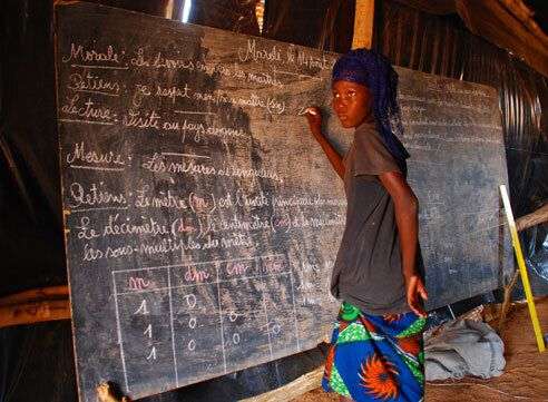 Sahel Food Crisis Diary - Children Find Unexpected benefits in