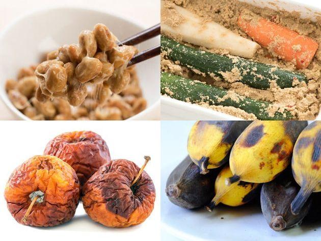 さまざまな発酵食品