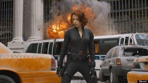 INTERVIEW: Scarlett Johansson On Buffing Up For Avengers, Speaking Russian And Trying To Look