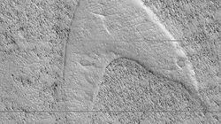 H ΝΑSA εντόπισε το σύμβολο του Αστροστόλου του Star Trek στην «Ελλάδα» του