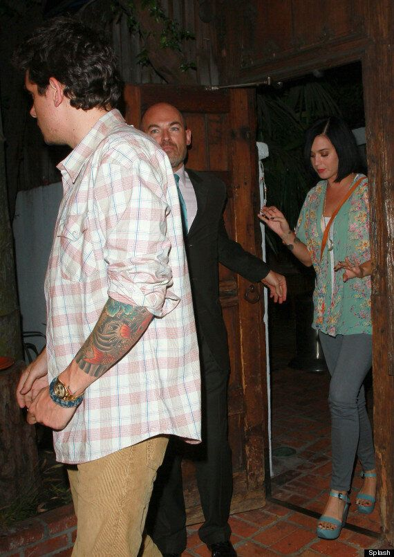 Is Katy Perry Back With John Mayer? Pair Spotted Leaving Restaurant