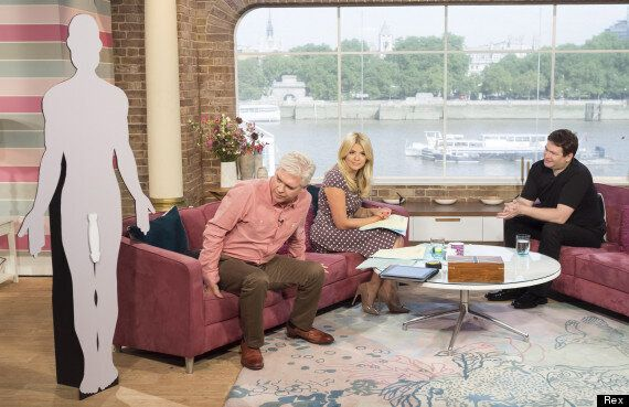 Jonah Falcon, Man With World's Largest Penis, Speaks To Holly Willoughby And Phillip Schofield On This