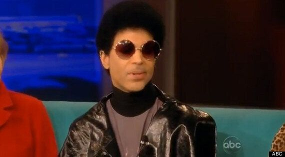 Prince On 'The View' - Unveils New Afro Appearance, Delights Barbara Walters With Flirty