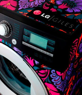 LG Launches Limited Edition Giles Deacon Washing Machine For London Fashion