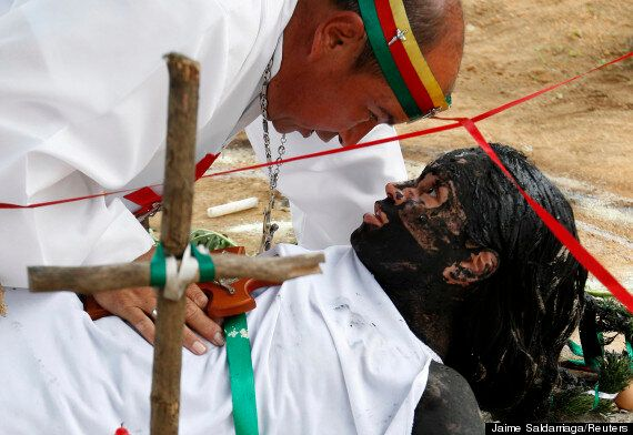 Real-Life Exorcism: Brother Hermes In Colombia Has Performed Thousands Of Rituals Over The Past 25