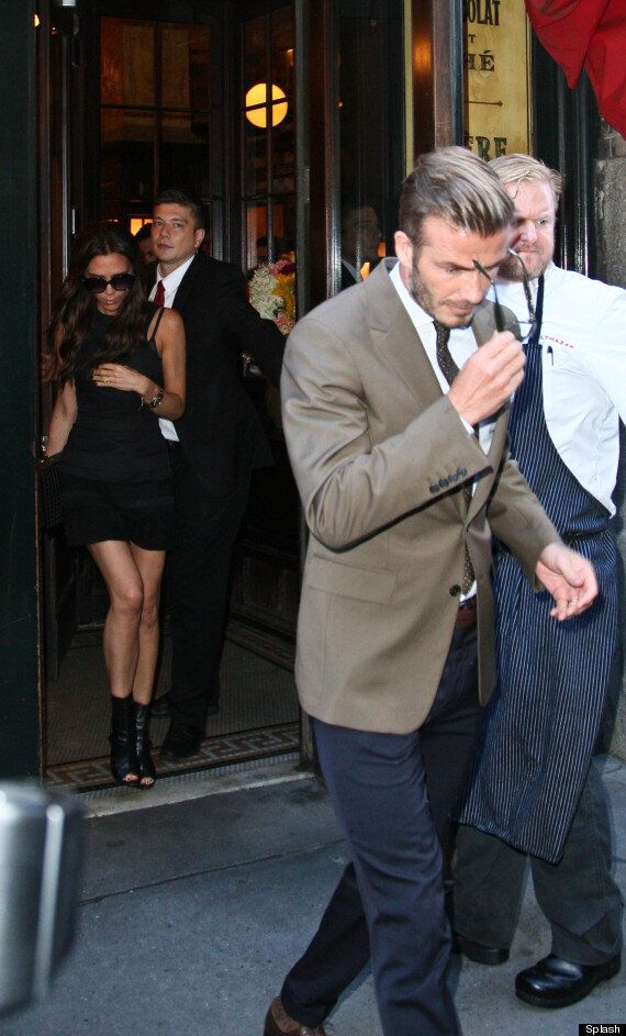 Victoria Beckham 'Slaps Katherine Jenkins With Dress Ban' As She Puts On United Front With David At NY...