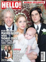 Peaches Geldof Reveals Wedding Pics: 'I Felt My Mother Watching Over
