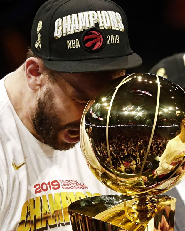 Los Raptors, nuevos campeones de la NBA ante unos diezmados Warriors