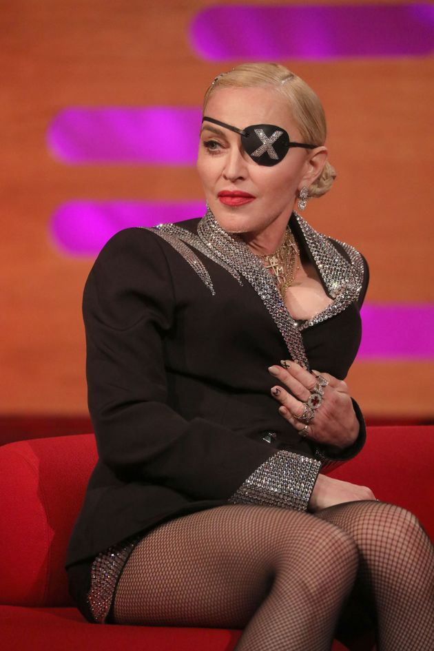 Madonna is a guest on this week's Graham Norton