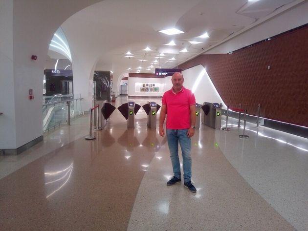 Αποστολή στη Ντόχα, Δημήτρης