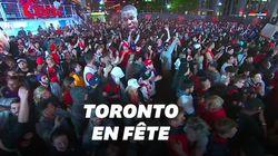 Drake et Toronto ont explosé de joie au moment de la victoire des