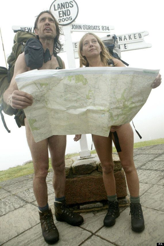 HebWeb News 2012: Naked Rambler approaches Hebden Bridge