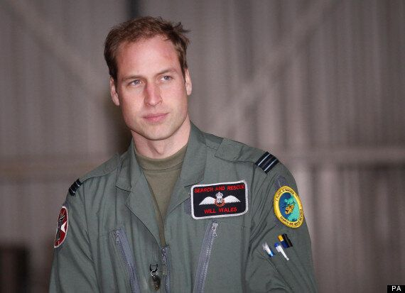 Prince William Rescues Schoolgirl From Sea In RAF