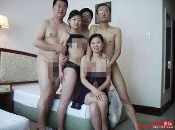 Sex Scandal Rocks Chinese Communist Party...But Are These The Most Awkward Orgy Pictures Ever?