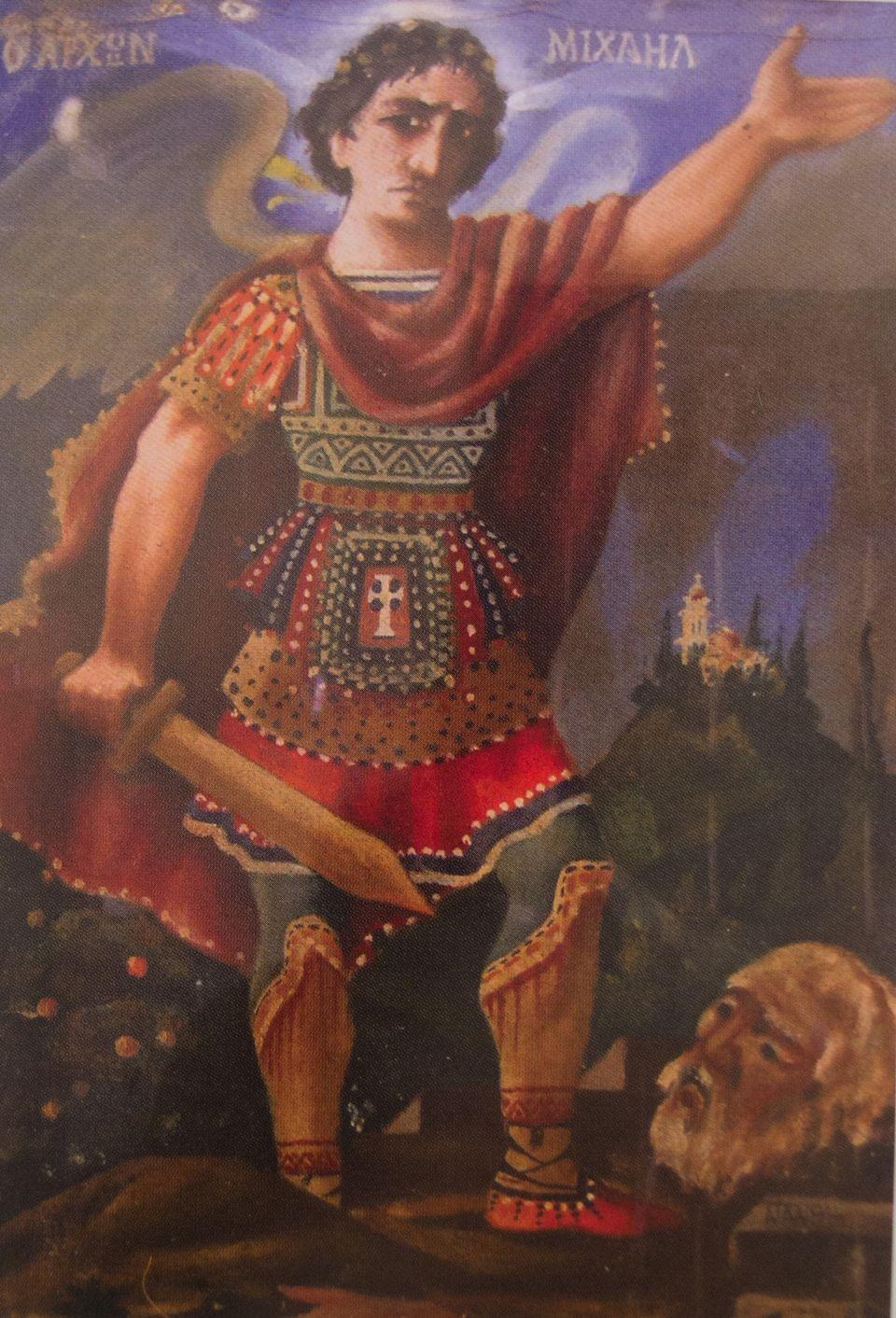 Ο Άρχων Μιχαήλ, Εμμ. Ν. Παπαμανώλης, ιδ. συλλογή Νικολάου Γ.