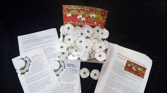 White Poppies Don't 'Indoctrinate' Children, They Open Up