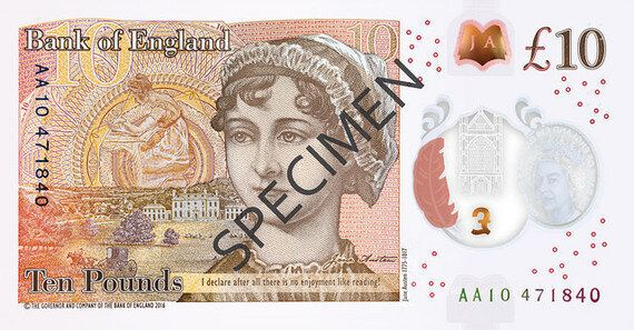 The Tenner In Your Pocket, And Why We Need To See More Women
