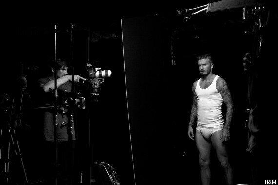 David Beckham Strips Off (Again) To Promote His Latest H&M Underwear Range