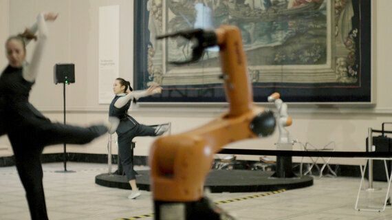Slave/Master At The V&A Challenges Public Perception About Robots Through Dance At London Design
