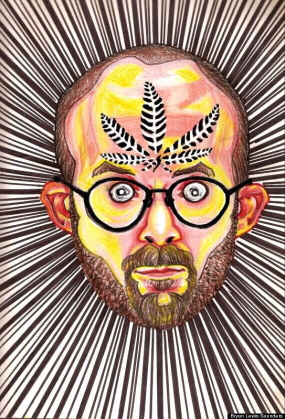 Seeing Things: Bryan Lewis Saunders Experiments With Drugs, Creates