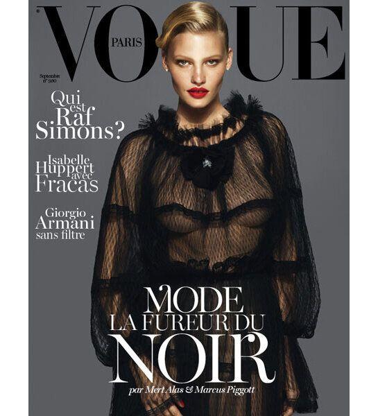Vogue Paris Gets a New Look for