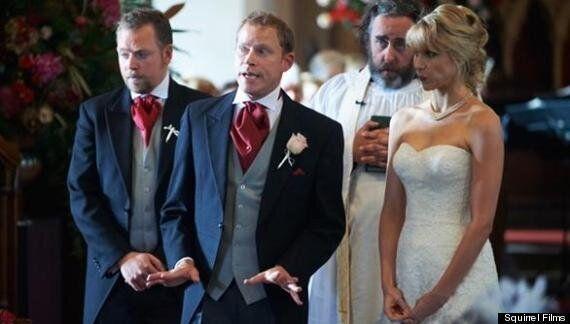 The Wedding Video's Robert Webb Remembers His Own SLIGHT Wedding