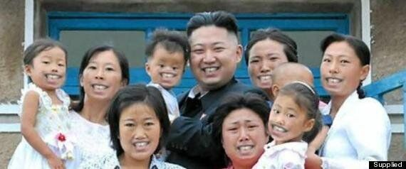 Kim Jong-Un Photo Opportunity Goes Wrong After Family Look Terrified With North Korean