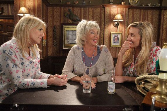 FIRST LOOK: Sue Johnston In Coronation Street, As Gloria, Michelle Collins'