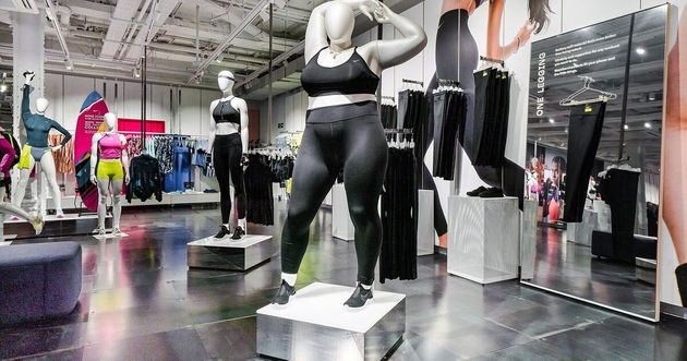 Telegraph's Fatphobic Take On Nike's Plus-Size Mannequins Receives