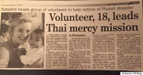 After The Tsunami Hit Thailand In 2004 I Couldn't Leave Those In Need