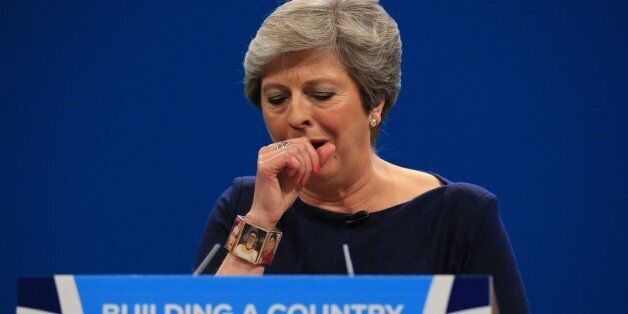 Tory Conference Diary, Day 4: May's Disaster Of A Speech Proved The Tories Have No
